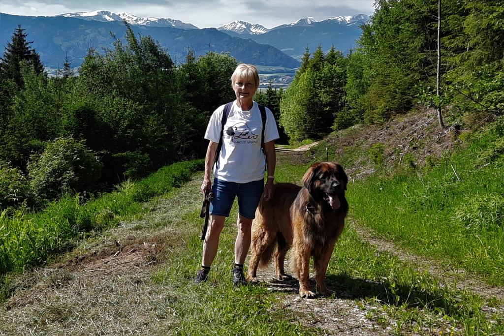 Bin mit Frauerl auch gerne wandern